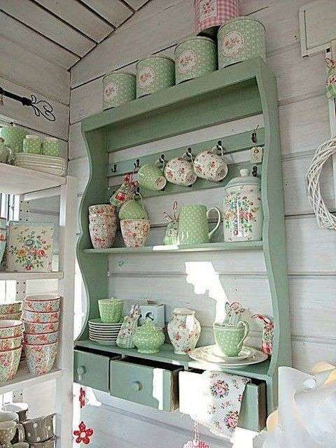 Mensole shabby chic