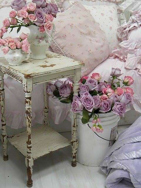 Decorare casa con i fiori finti foto design mag for Decorare stanza shabby chic