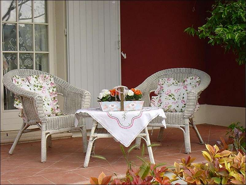 Angolo relax romantico in stile country