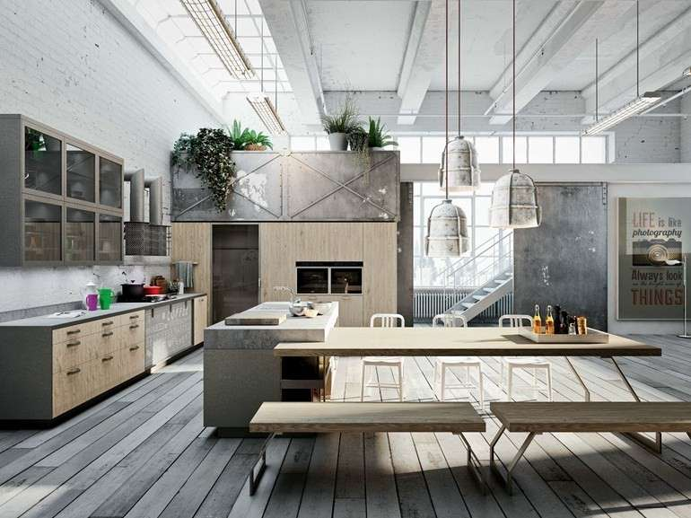 Awesome Cucine E Soggiorni Moderni Photos - Ideas & Design 2017 ...