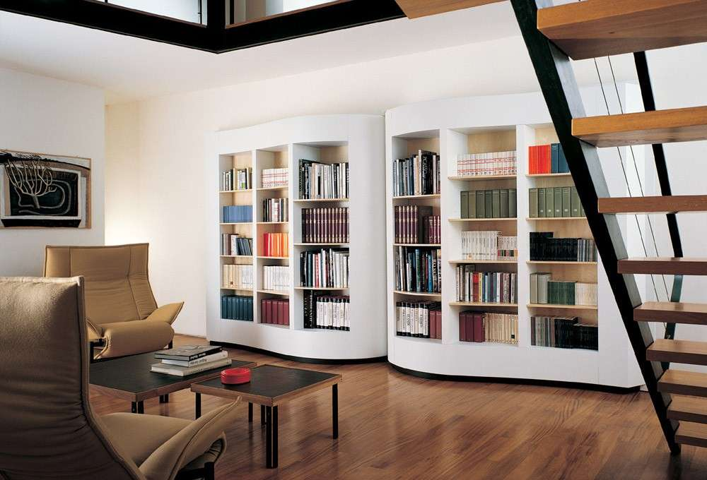 Librerie in cartongesso (Foto) | Design Mag