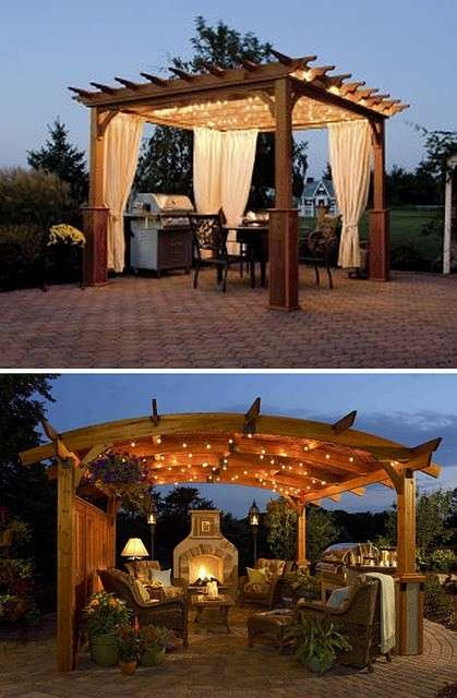 Come illuminare un gazebo