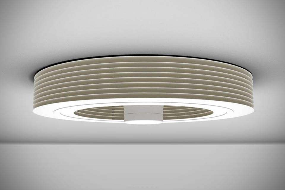 Ventilatore di design Exhale