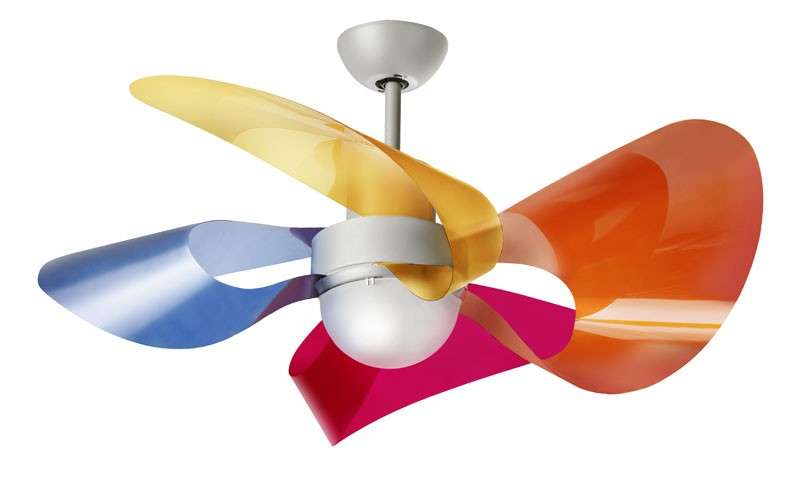 Ventilatori di design Soffio LED
