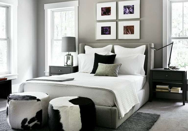 Beautiful Pareti Grigie Camera Da Letto Pictures - Design Trends ...