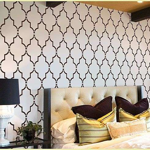 Come decorare casa con gli stencil foto design mag for Stencil parete