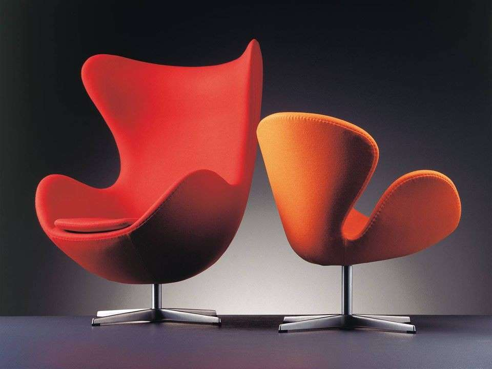Poltrone Egg di Jacobsen 1958