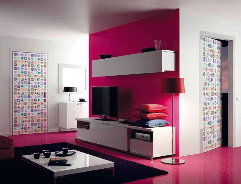 Porte indoor multicolor