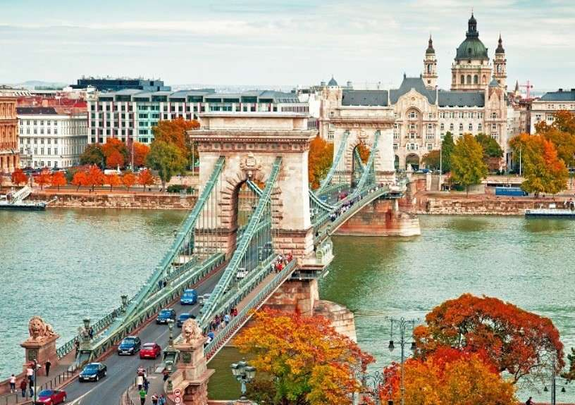 Budapest in autunno