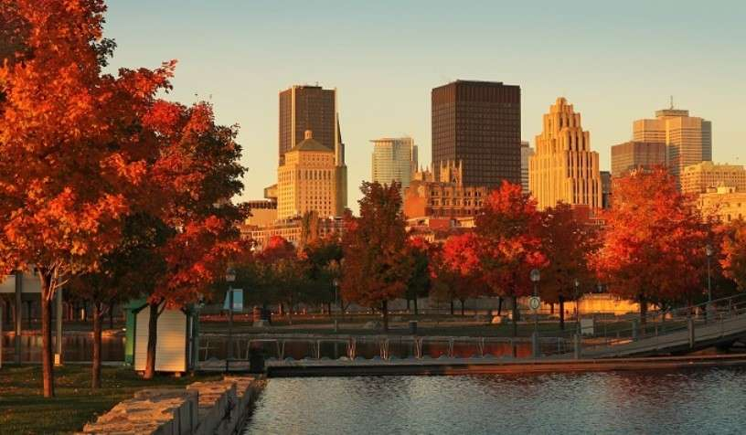 Montreal in autunno