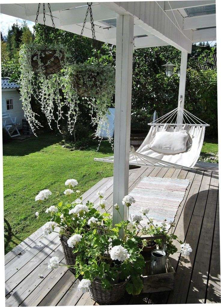 Veranda in stile country
