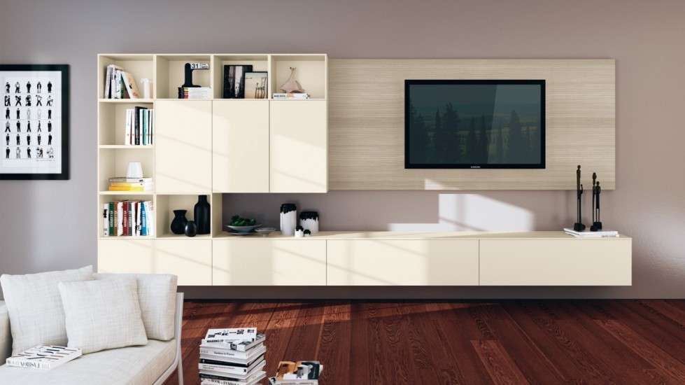 Living in laccato ed essenza Scavolini