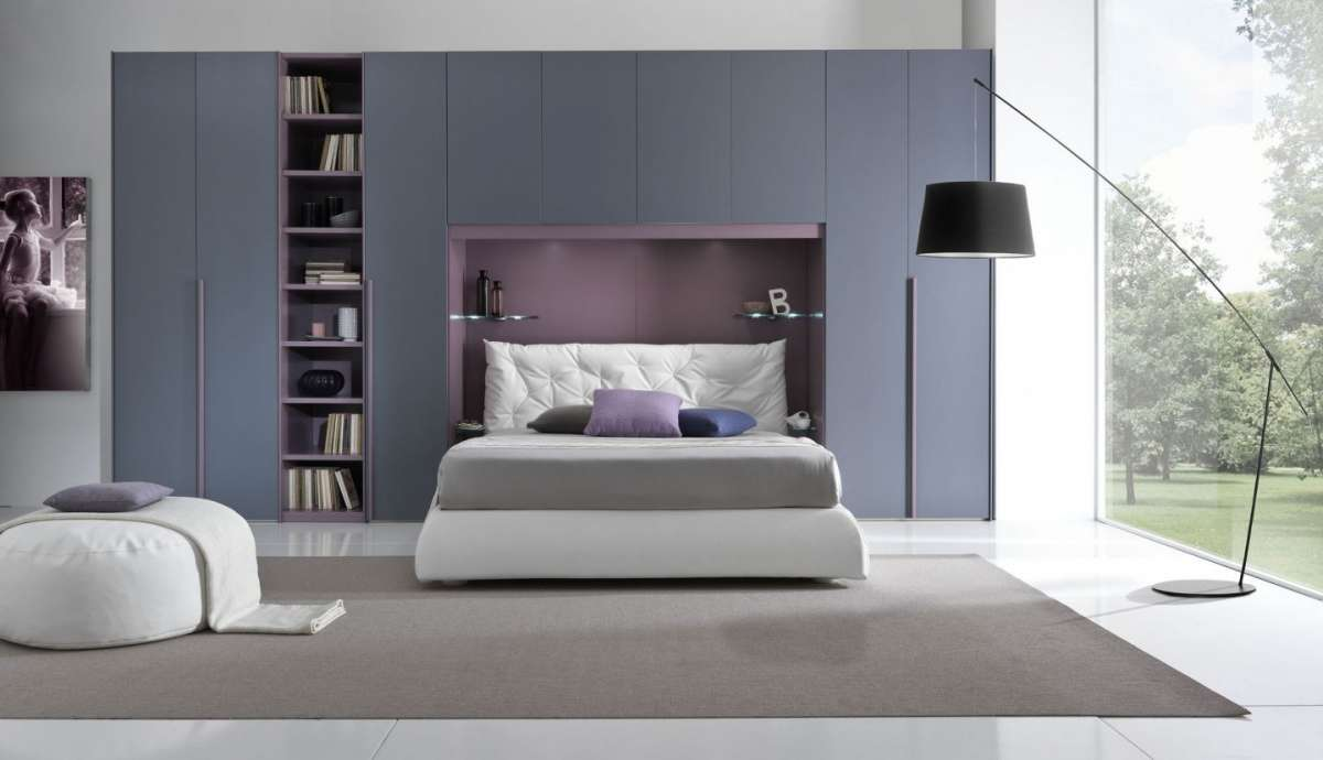 Emejing Camera Da Letto Con Armadio A Ponte Contemporary - Design ...