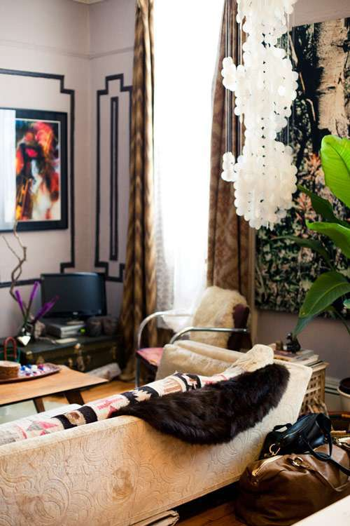 Decori in stile hippie chic