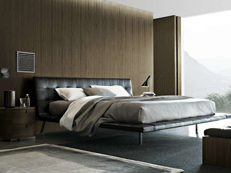 Letto in ecopelle Poliform