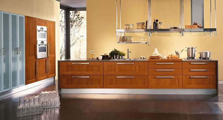 Awesome Cucine Moderne Color Ciliegio Pictures - Carolineskywalker ...