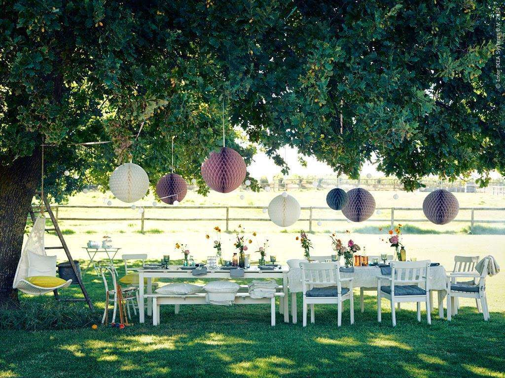 Location per party in giardino