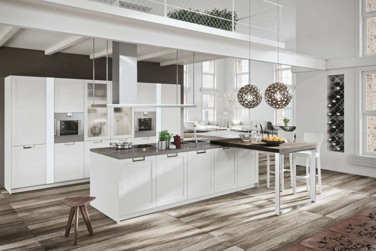 Cucina country chic moderna
