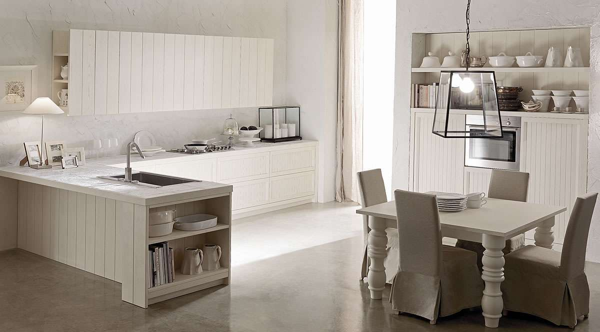 Cucine country chic eleganti