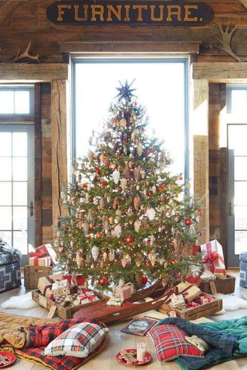 Decorazioni natale casa in stile country foto design mag - Natale country decorazioni ...