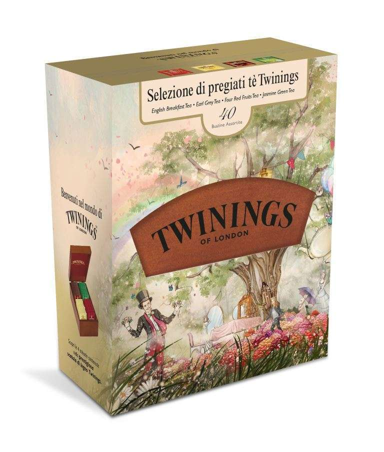Twinings Legno pack per Natale 2016
