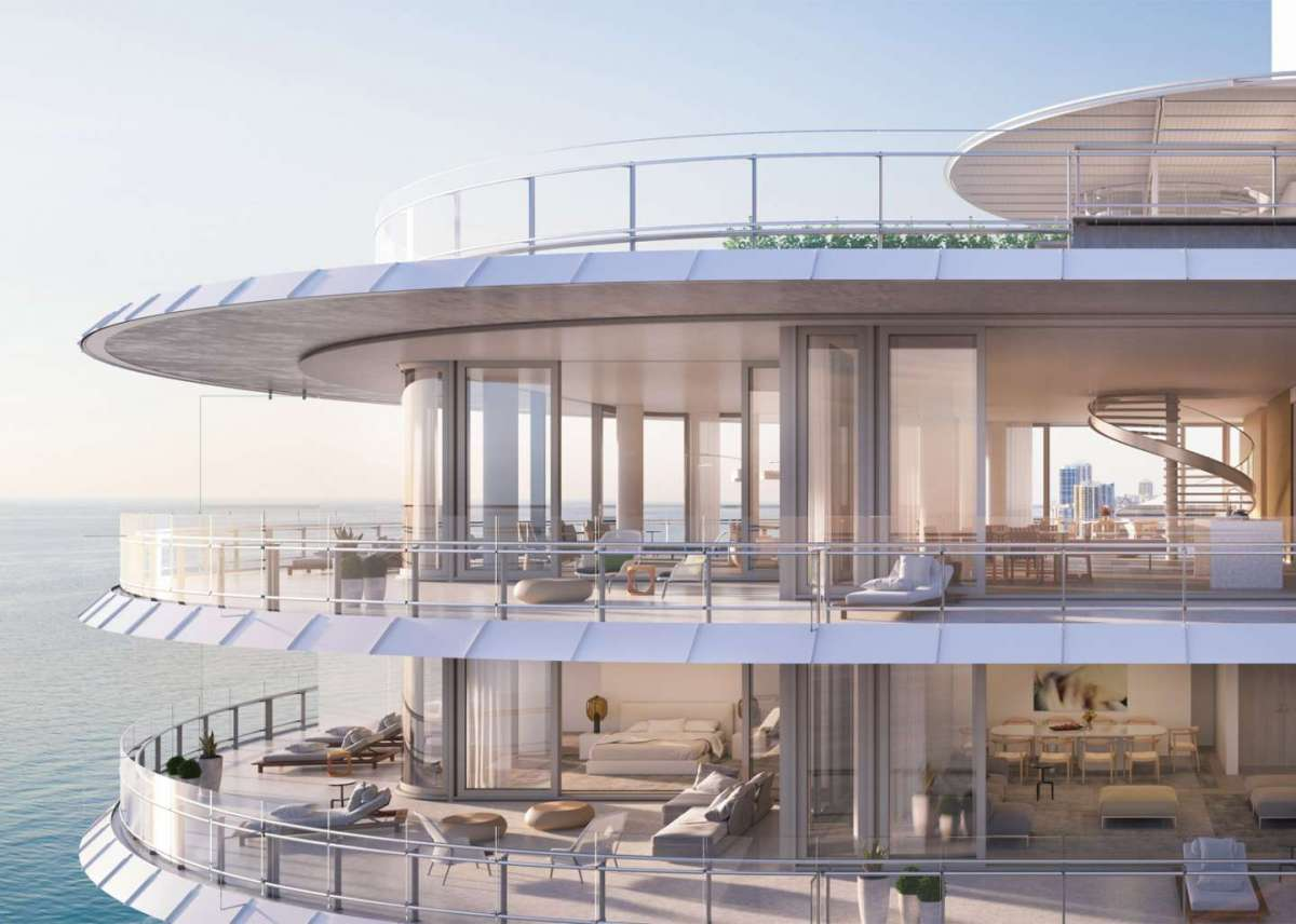 Eighty Seven Park a Miami di Renzo Piano