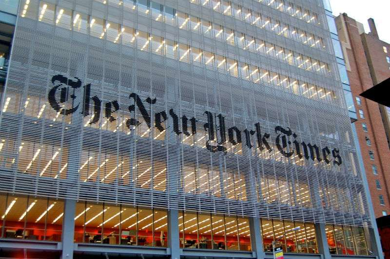 Il New York Times di Renzo Piano
