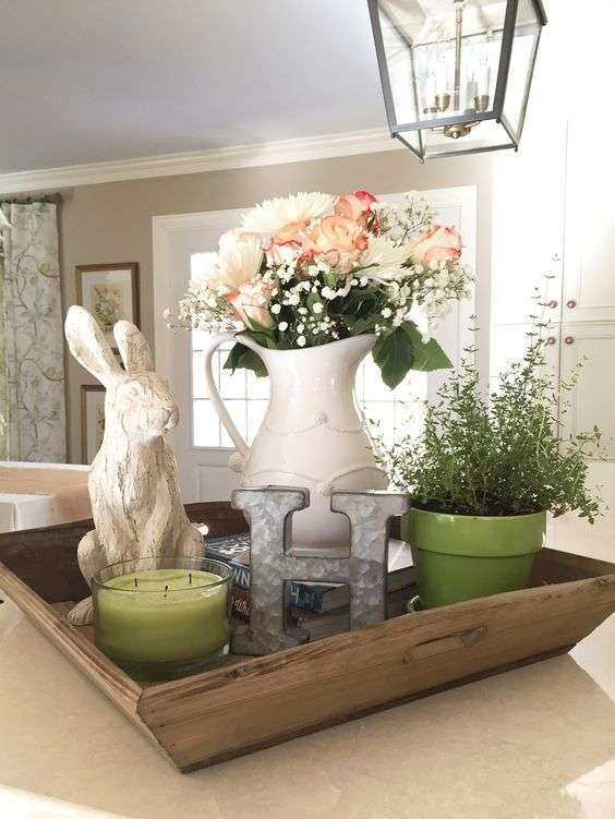 Decorazioni pasquali in stile shabby chic foto design mag - Idee per decorare casa ...