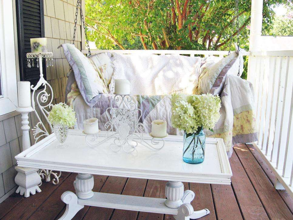 Lo Shabby Chic per l'outdoor