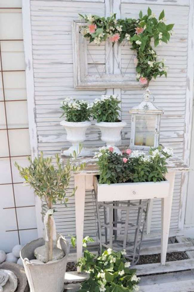 Gli accessori shabby chic