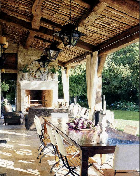 Come arredare la veranda in stile provenzale foto for Patio arredamenti