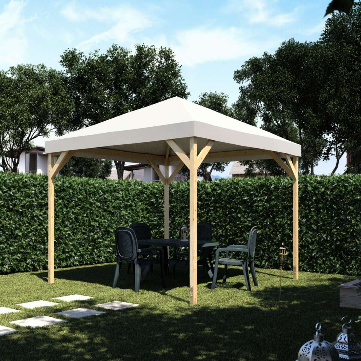 Catalogo leroy merlin giardino 2017 foto design mag for Gazebo pieghevole leroy merlin