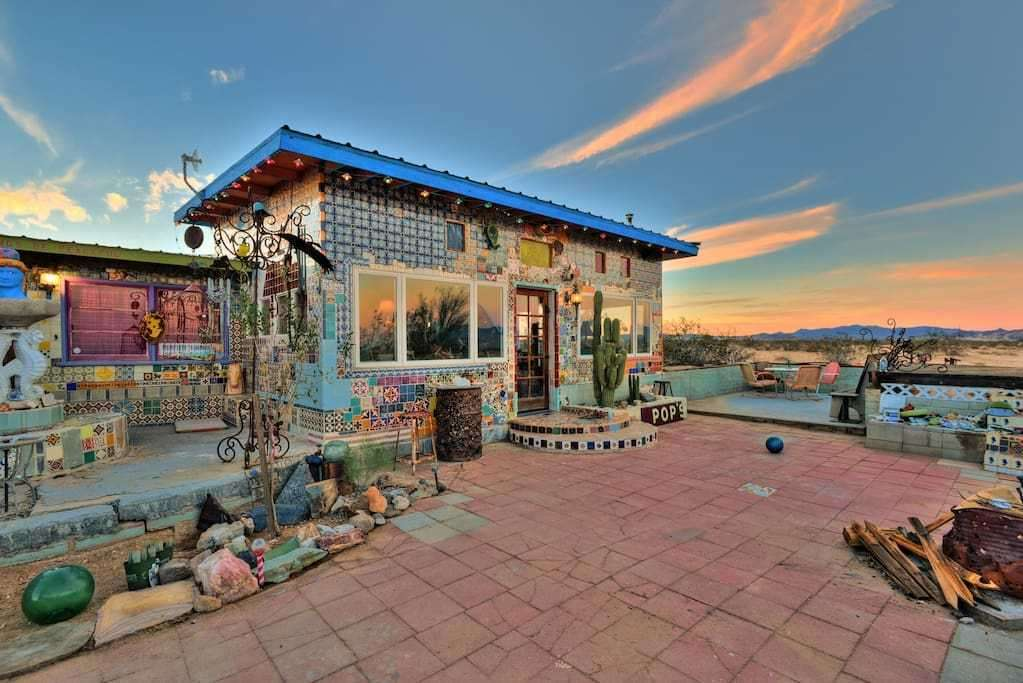 Tile house, Twentynine Palms in California