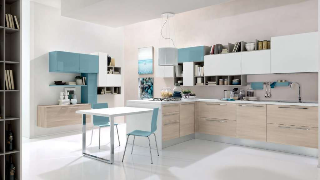 Cucina con living space Grancasa