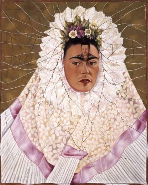 Autoritratto di Frida Kahlo