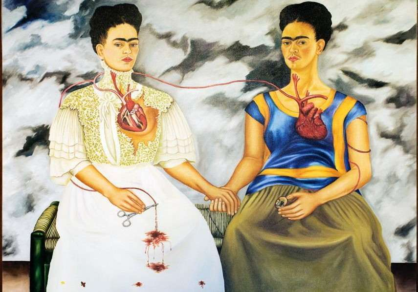 Le due Frida, il dipinto di Frida Kahlo
