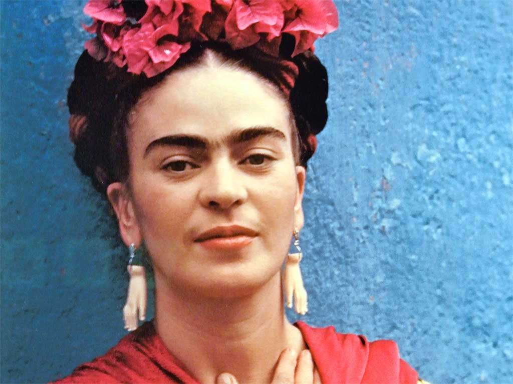 La pittrice messicana Frida Kahlo
