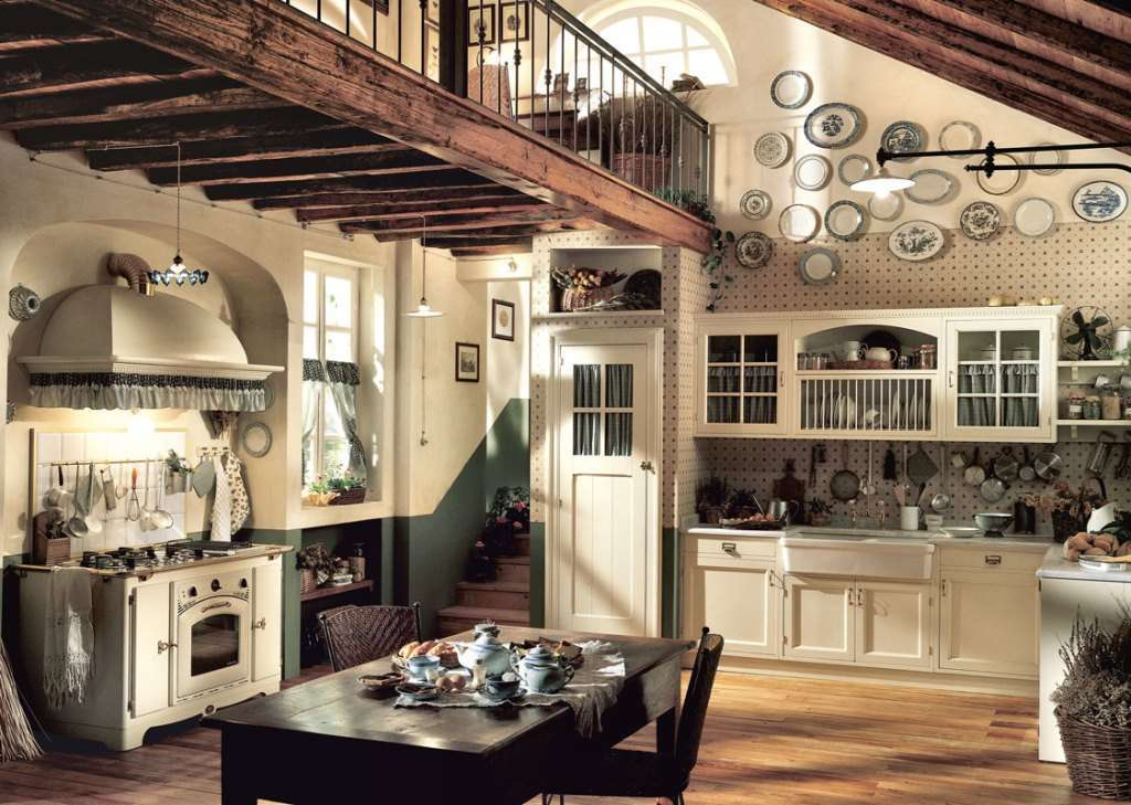 Old England cucina country