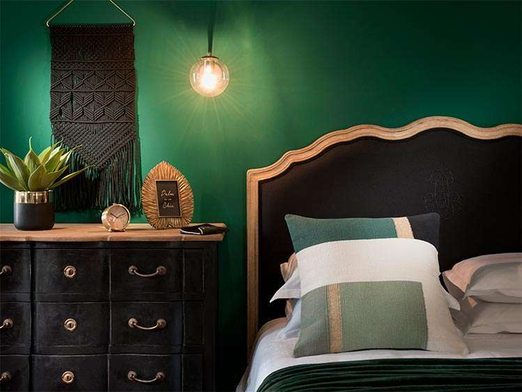 Tendenza Green Addict per la camera da letto