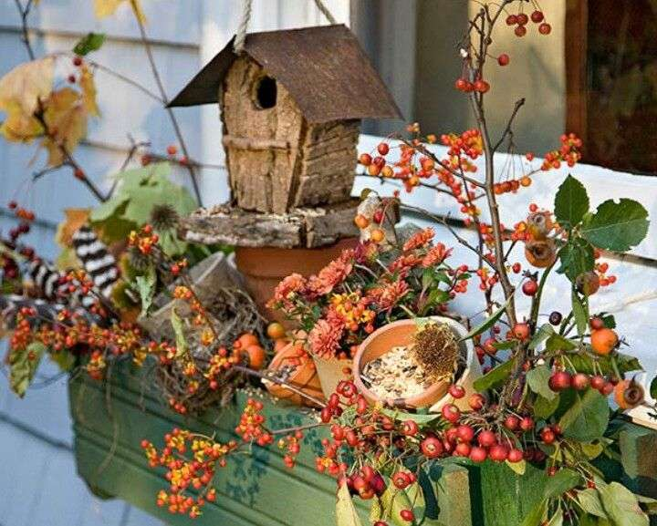 Idee per decorare casa in autunno