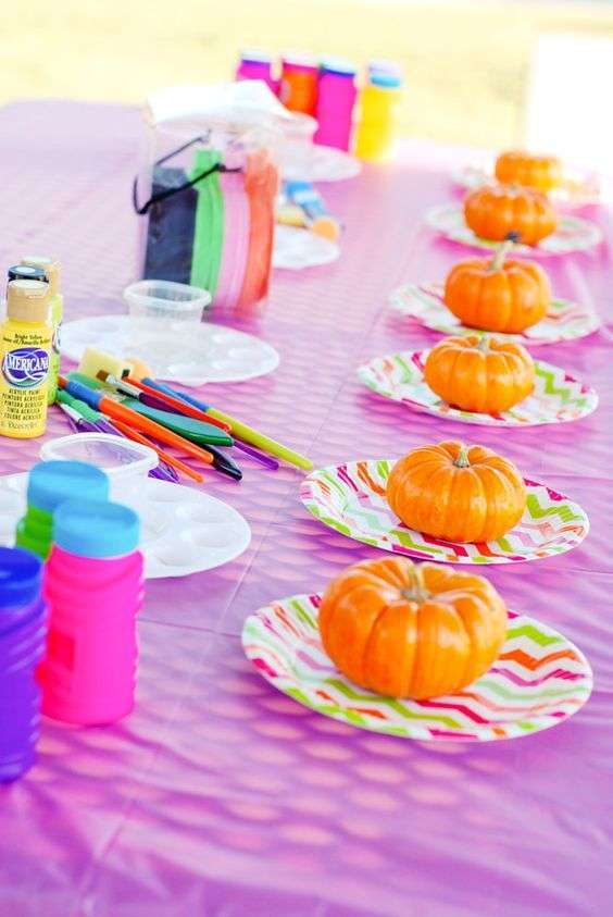 Decorare le zucche per Halloween