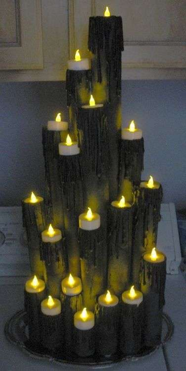 Candele luminose per Halloween