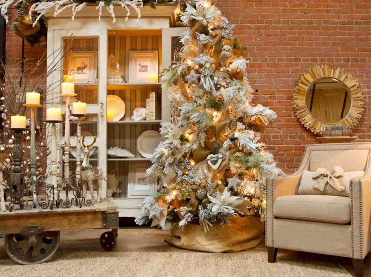 Il Natale shabby chic