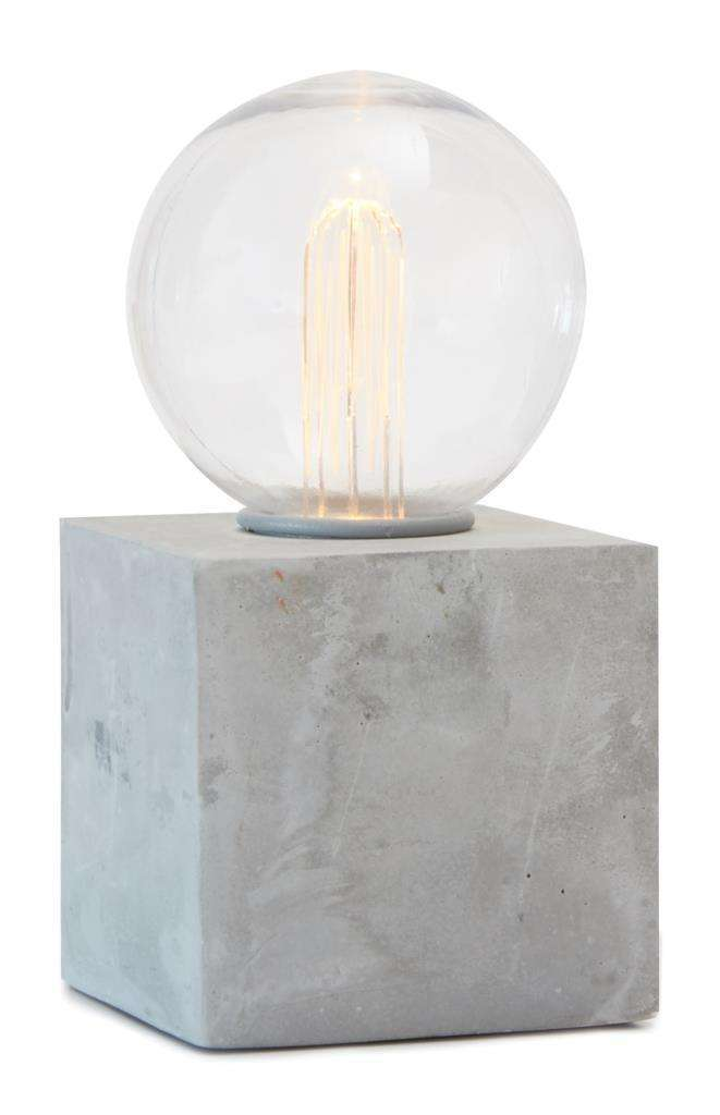 Concrete Lightbulb Primark