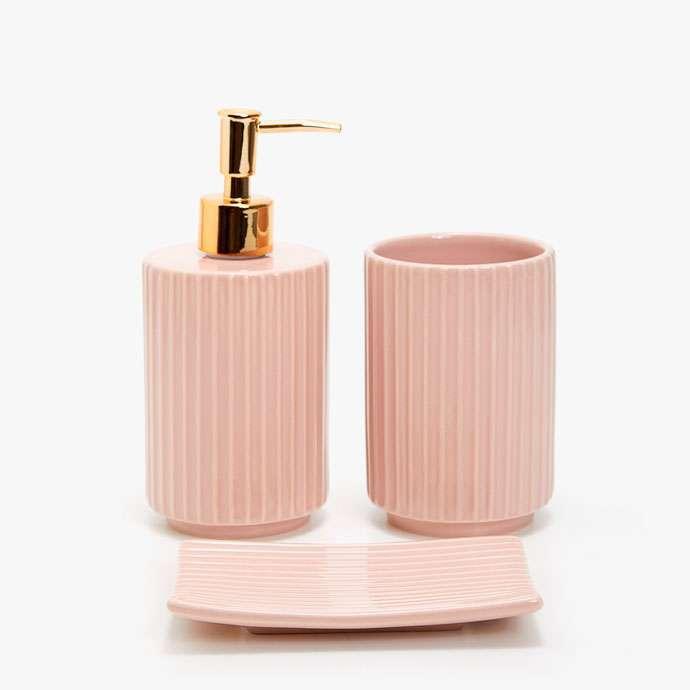 Accessori rosa bagno Zara Home