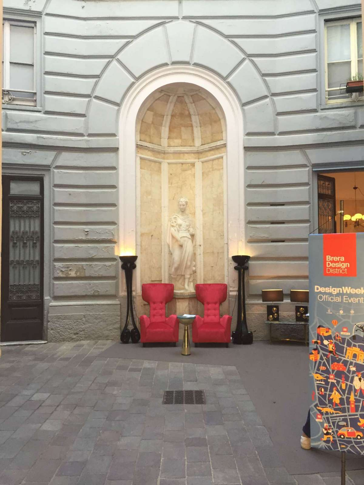 Cortile del Brera Design District