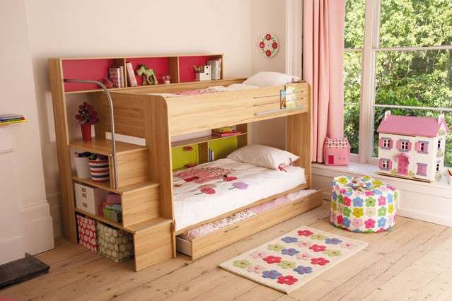 Cameretta Storage Bunk Beds