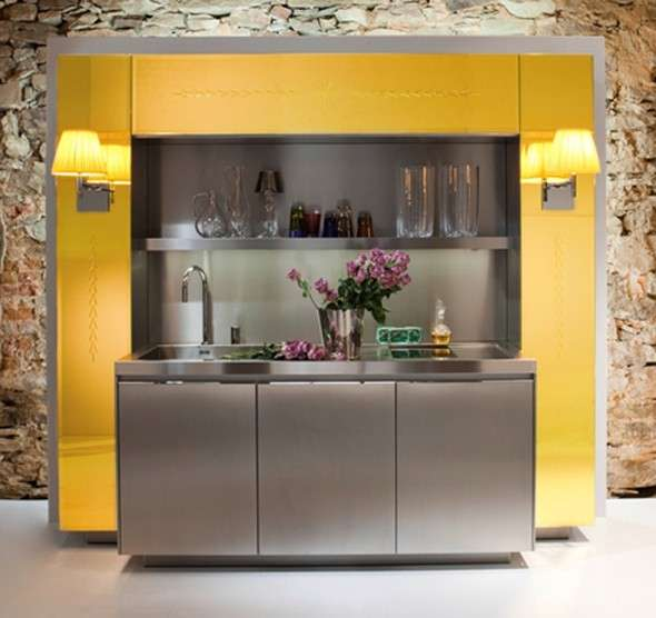 Stunning Cucina Piccola Moderna Photos - Home Interior Ideas ...