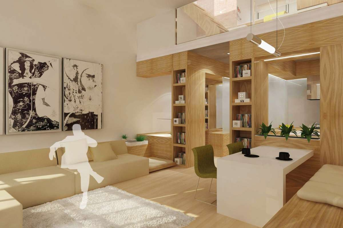 Arredare un loft foto 5 40 design mag for Grandi case in stile ranch