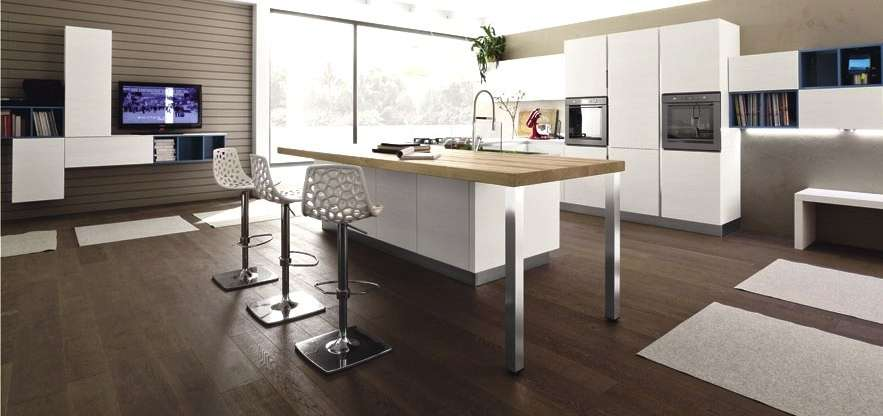 Open Space Come Dividere Zona Living E Cucina - Arredare ...
